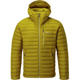 Rab Microlight Alpine Jacket Men dark sulphur/sulphur